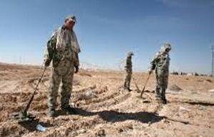 پیدا شدن صدها مین آمریکایی در مقر تروریستها در قنیطره