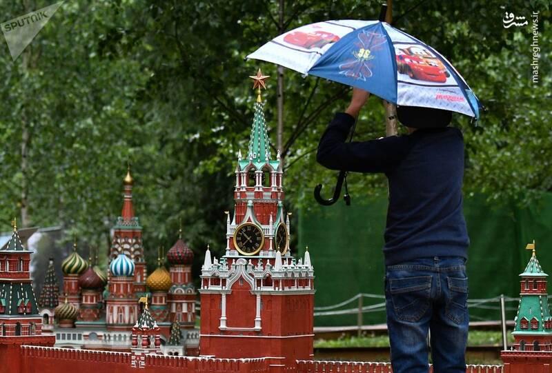 کل روسیه را در این پارک ببینید