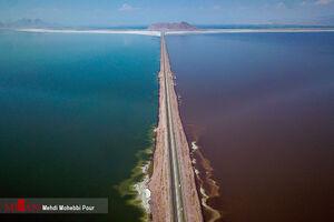 عکس/ حال خوب دریاچه ارومیه