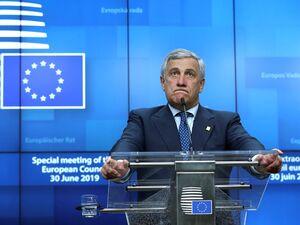 فیلم/ اتفاقی جالب در جلسه پارلمان اروپا