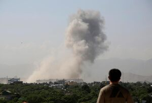 تصاویر جدید از انفجارهای افغانستان