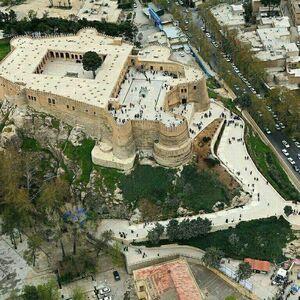 عکس/ نمایی زیبا از قلعه فلک الافلاک