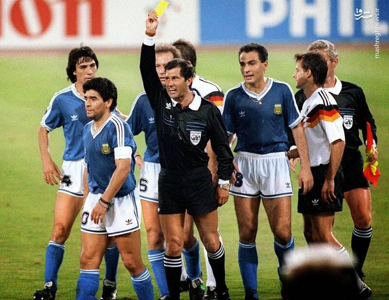 دیدار تیم های آرژانتین و آلمان غربی - فینال جام جهانی 1990