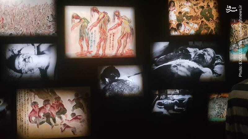 تصاویر قربانیان و نقاشیهایی که بازماندگان و حتی نسلهای جدید با الهام از این فاجعه، به تصویر کشیدهاند.