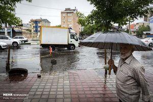 """پیش بینی باران """"قابل ملاحظه"""" در ۴ استان"""