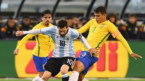 پیش بازی جدال حساس برزیل و آرژانتین در کوپا آمهریکا