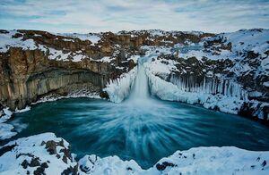 آبشار یخی ایسلند