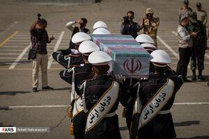 زمان ورود پیکر مطهر ۴۴ شهید دفاع مقدس به کشور