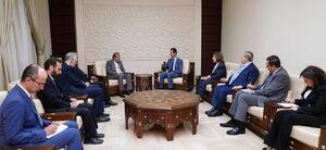 دستیار ارشد وزیر خارجه با بشار اسد