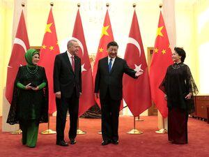 عکس/ اردوغان وارد چین شد