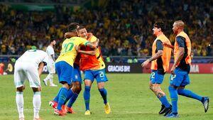 برزیل با غلبه بر آرژانتین فینالیست شد