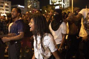 درگیری مزدوران رژیم صهیونیستی با معترضان اتیوپی