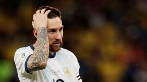 طعنه جهانی: نابغه هستی اما مارادونا نیستی مسی! +عکس