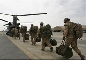 کاهش چراغ خاموش نظامیان آمریکایی در افغانستان