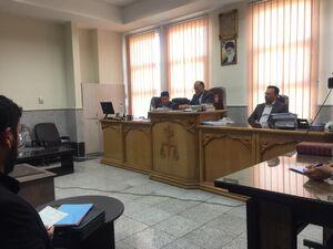 جلسه محاکمه عامل شهادت امام جمعه کازرون/ صدور حکم قصاص برای قاتل شهید خرسند