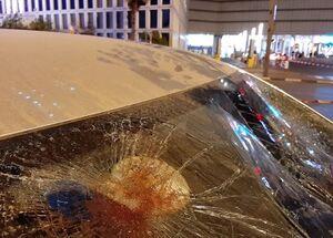 فیلم/ واژگونی دومین ماشین پلیس صهیونیستها