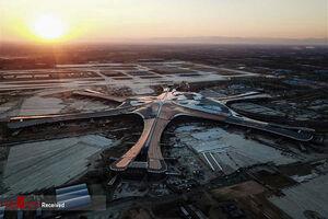 عکس/ بزرگترین فرودگاه جهان در پکن