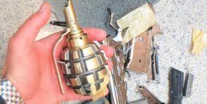 کشف و خنثی سازی بمب دستی در زاهدان