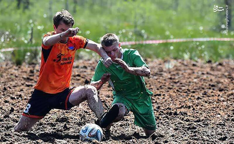 جام جهانی فوتبال در باتلاق در روسیه برگزار شد.