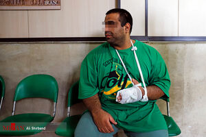 عکس/ دستگیری قاتل فراری ملقب به غول