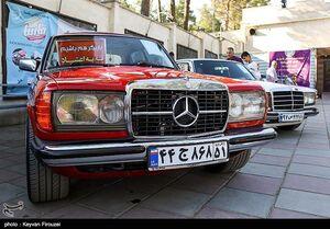 عکس/ دورهمی خودروهای کلاسیک در سنندج