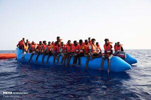 قربانی شدن بیش از ۱۰۰۰ پناهجو در مدیترانه