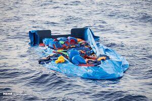 غرقشدن کشتی پناهجویان در سواحل ایتالیا