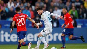 فیلم/ خلاصه دیدار آرژانتین 2-1 شیلی