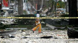 عکس/ انفجار مهیب در فلوریدا آمریکا
