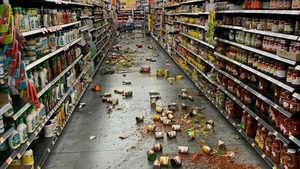 وقوع اتش سوزی پس از زلزله 7.1  ریشتری در کالیفرنیا آمريکا