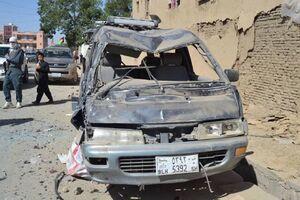 عکس/ حمله انتحاری خونین در افغانستان