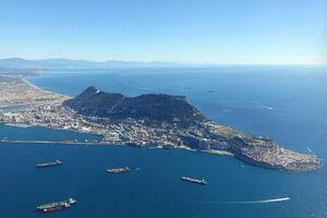 صخره جبل الطارق: نیروی دریایی بریتانیا در جنوب اسپانیا چه میکند؟+ نقشه