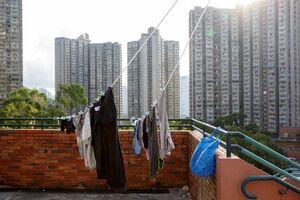 عکس/ در آسمانخراشهای هنگ کنگ چه میگذرد؟