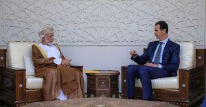 عکس/ دیدار وزیرامورخارجه عمان با اسد