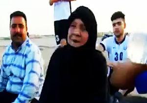 فیلم/ مادر بزرگ فوتبالی!
