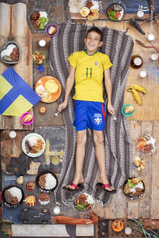 داوی ریبرو 12 ساله برازیلیا برزیل