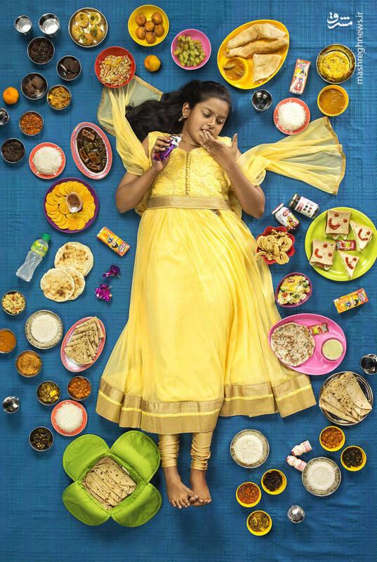 ادویتا ونکاتش 10 ساله هند
