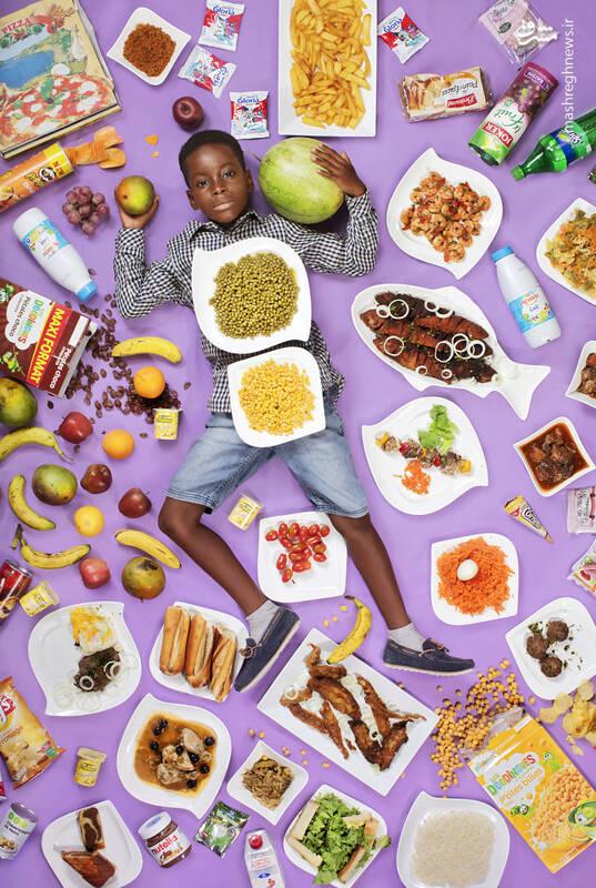 فرانک فاد آگبومو 8 ساله داکار سنگال