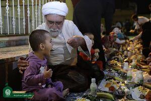 عکس/ شام متفاوت تولیت آستان قدس