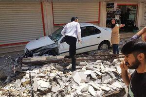 فیلم/ خسارت زلزله به بانک صادرات مسجد سلیمان
