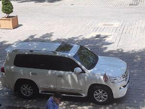عکس/ خودروی سفیر انگلیس در وزارت خارجه