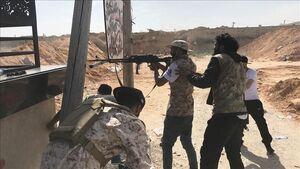 تلاش دوباره آمریکاییها و سعودیها برای جبران شکستها در شمال غرب لیبی/ ارسال تجهیزات نظامی برای نیروهای ژنرال حفتر در حومه جنوبی استان طرابلس + نقشه میدانی و عکس