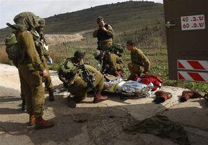 عکس/ صهیونیست به هلاکت رسیده در کرانه باختری