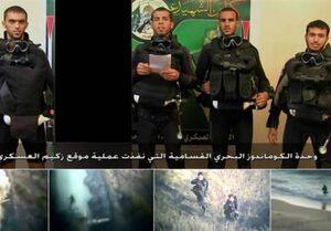 عملیات زیکیم، عرض اندام نیروی دریایی حماس