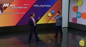 فیلم/ سرمربی تیم ملی کاراته در چالش بطری
