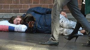 رشد ۱۶۵ درصدی تعداد بیخانمانها در لندن +عکس