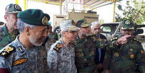 بازدید رئیس ستادکل نیروهای مسلح از تیپ ۳۸