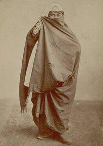 عکس/ حجاب زنان در زمان قاجار