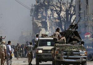 تجمع مزدوران پشت مرزهای لیبی با پول عربستان و امارات