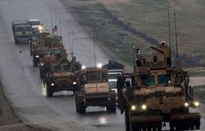 اعزام کاروان بزرگ زرهی ترکیه به مرز سوریه